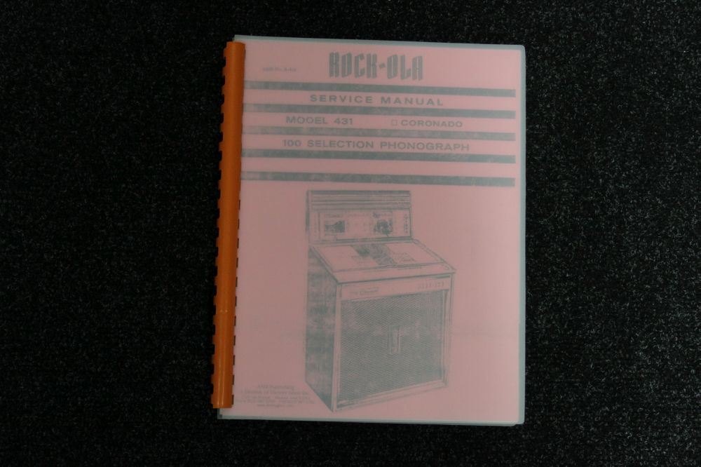 Rock-Ola Service Manual - Model 431