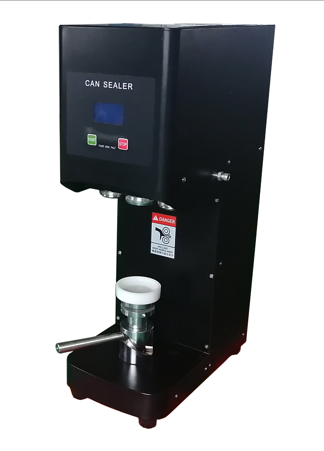 New 2020 Model GL-CSS Automatic Beverage 53mm Canning Machine.