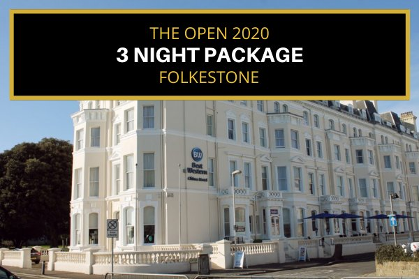 Attend the 2020 Open - Folkestone (36 mins to Sandwich) - Saturday & Sunday (3 night package)