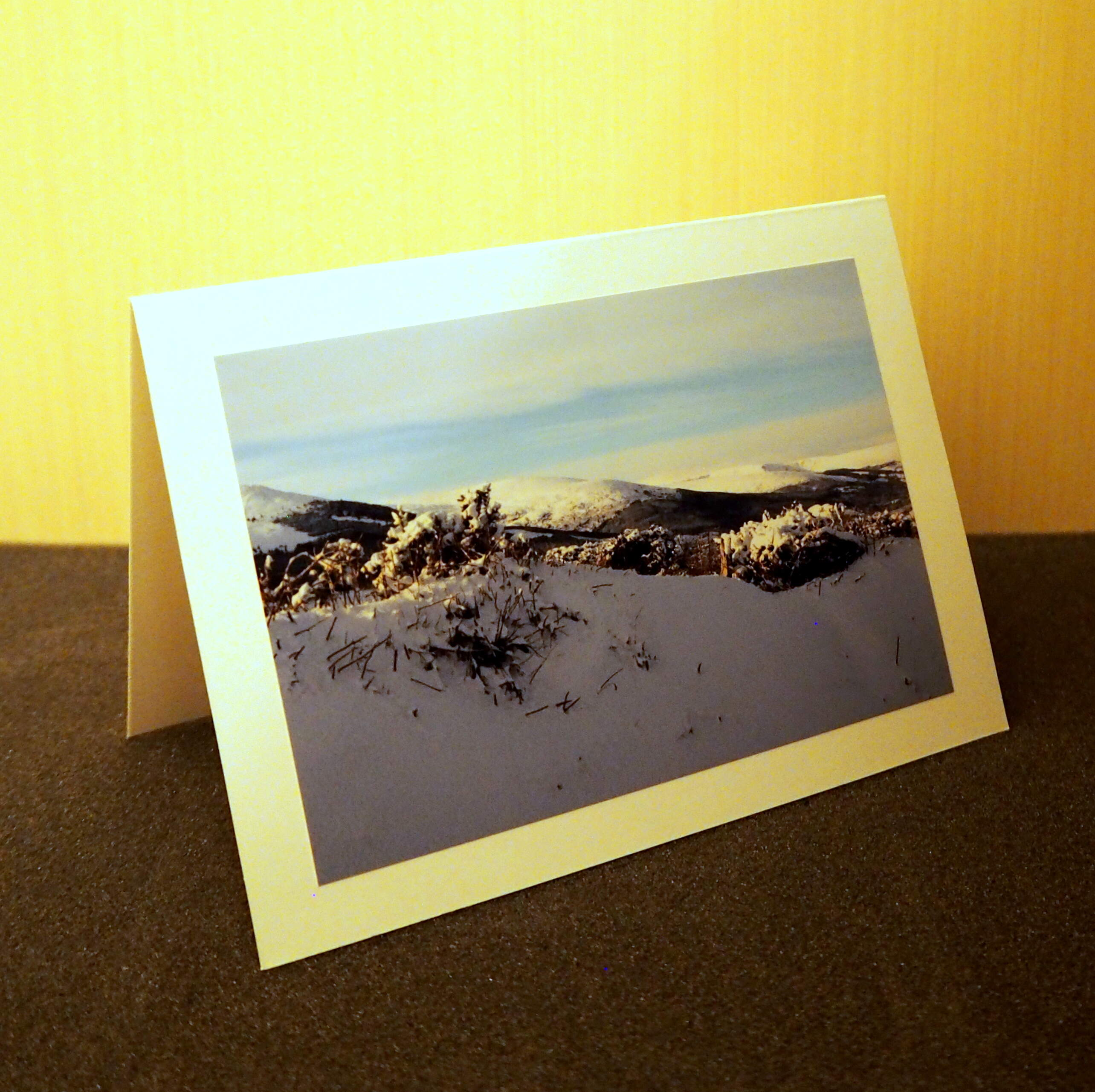 Snow in the Wicklow Hills Card Collection