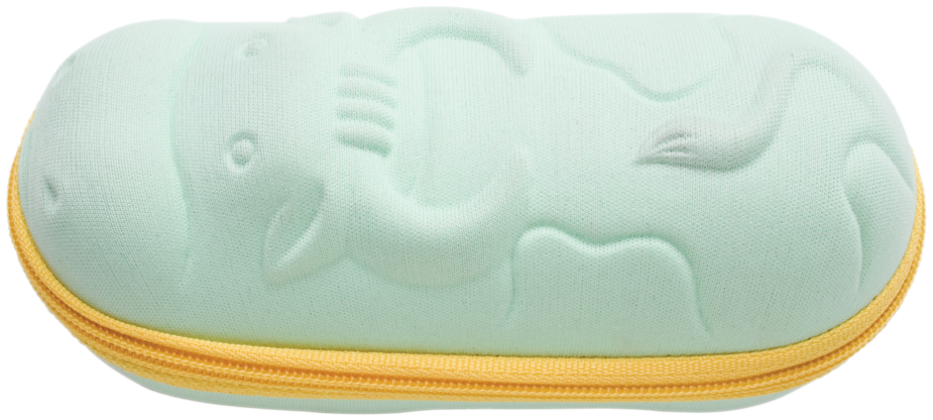 Hilco Kids zippered case Green