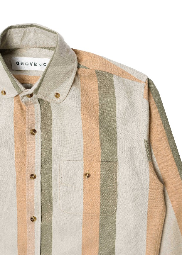 Button Down | Linwood Stripe