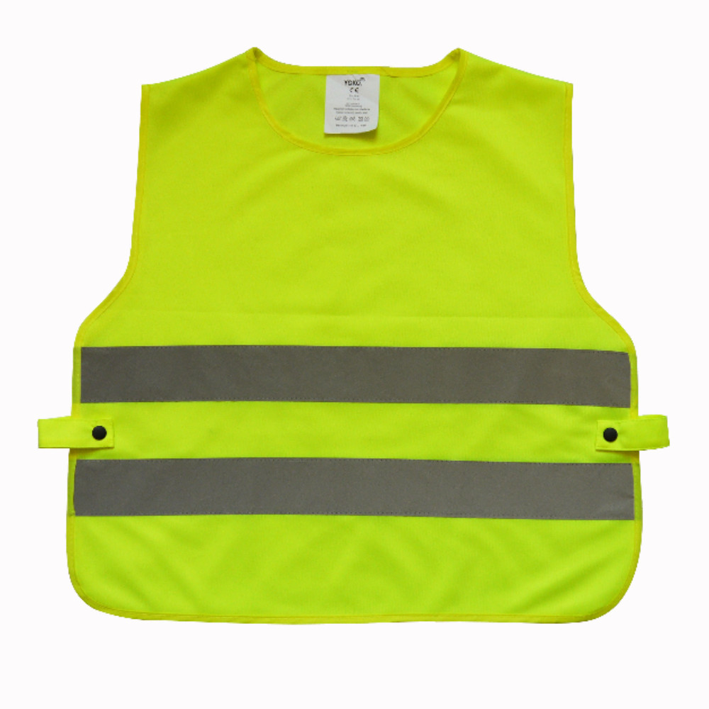 HVS269CH Child's Hi Vis Yellow Reflective Tabard