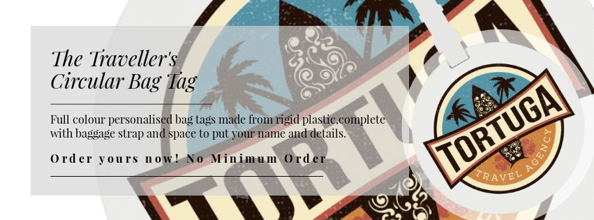 Personalised Bag Tags -No Minimum Order