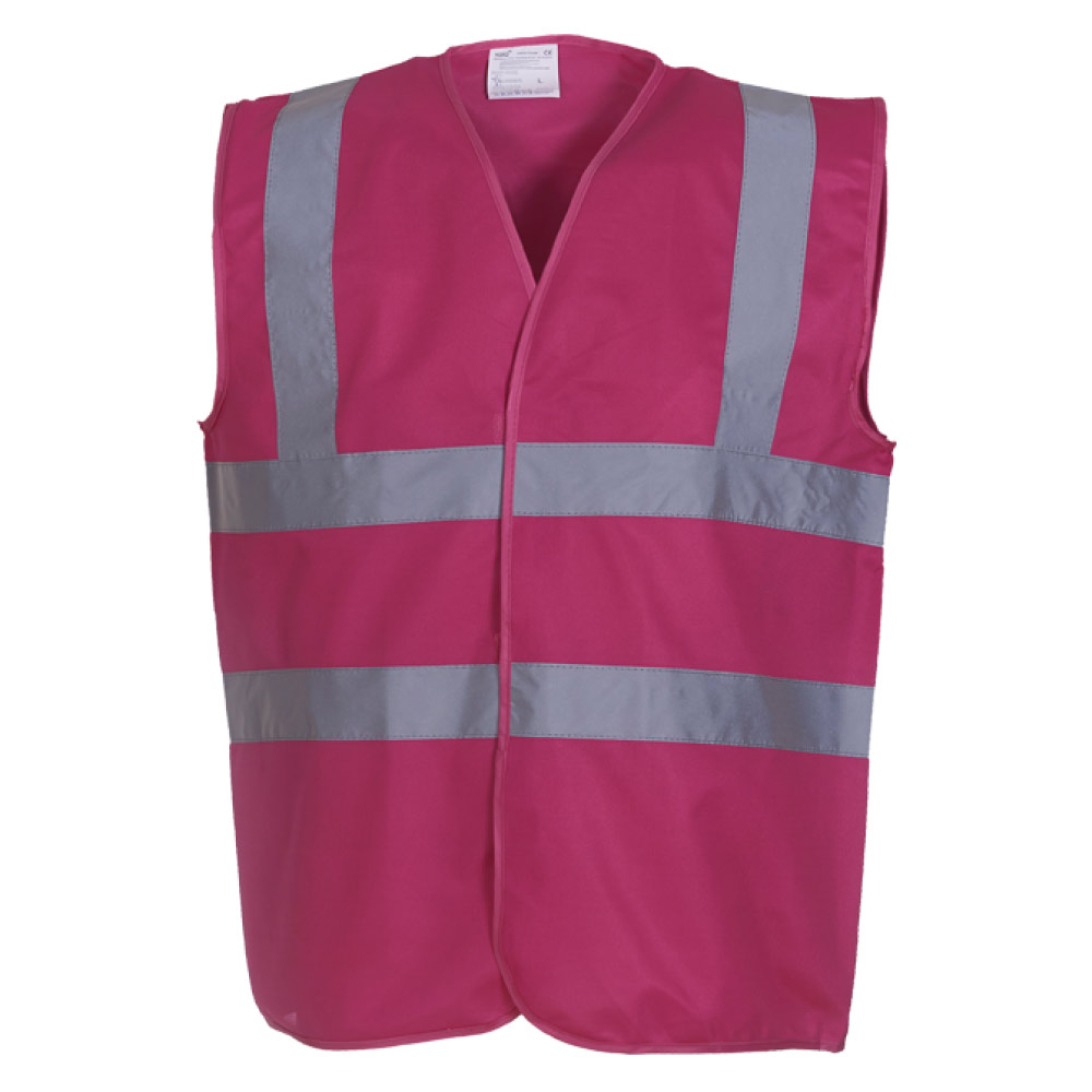Red High Visibility Safety Vests