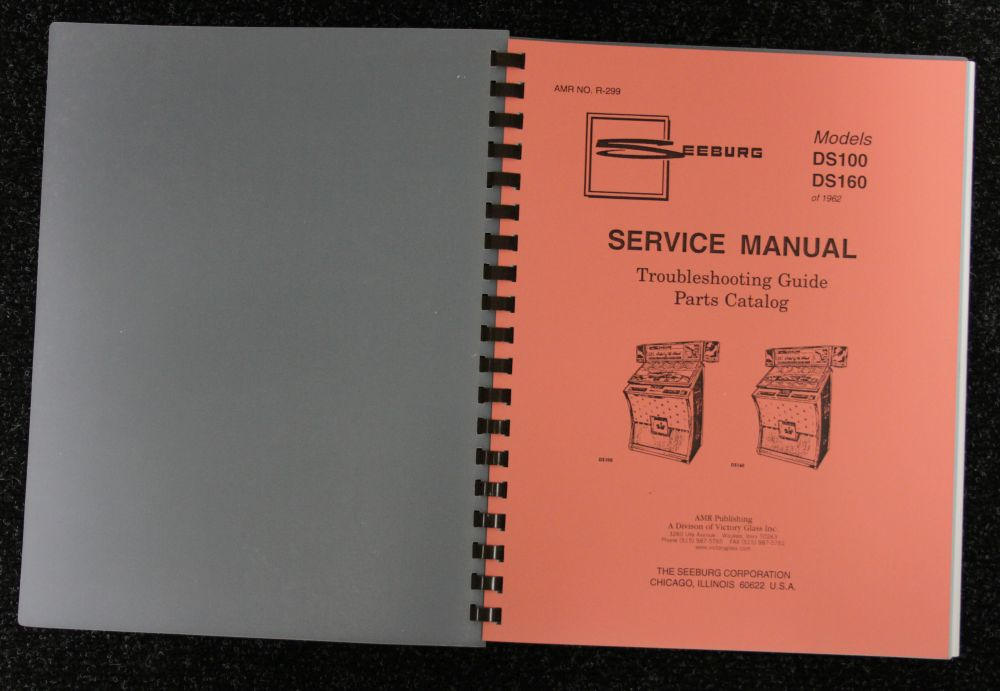 Seeburg - Service Manual Models DS 100 and DS 160