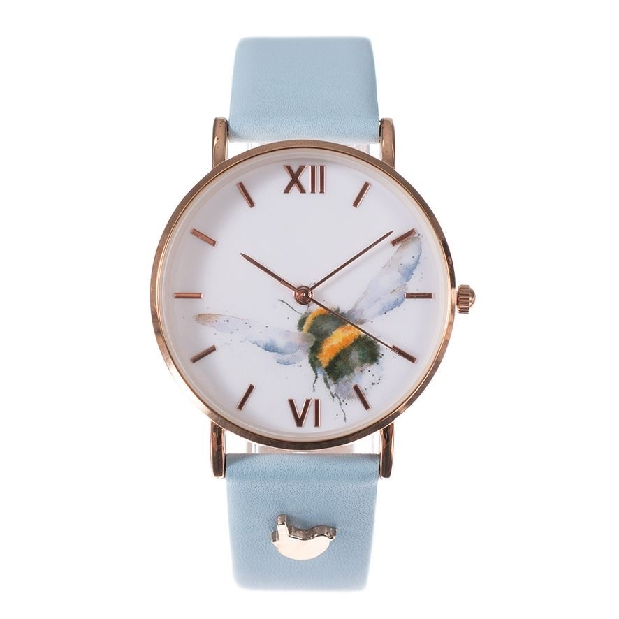 'Flight Of The Bumblebee' Watch VEGAN STRAP by Wrendale Designs