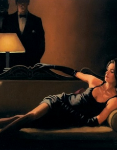 Along Came A Spider Limited Edition Jack Vettriano