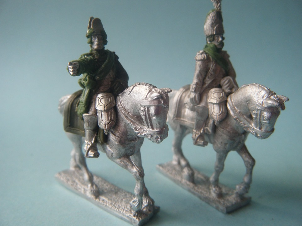 French Mounted Officers Revolutionary Wars