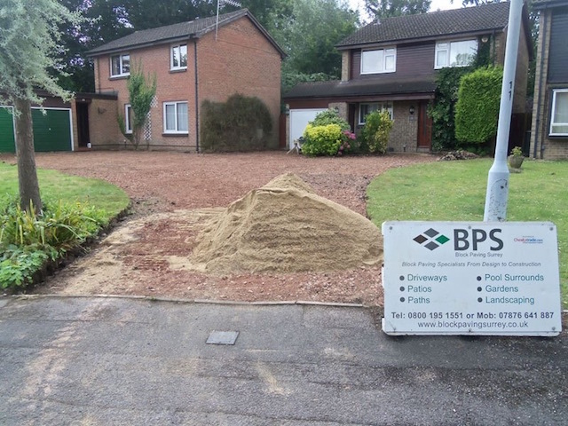 Block Paving Surrey Datchet, near Windsor, Berkshire