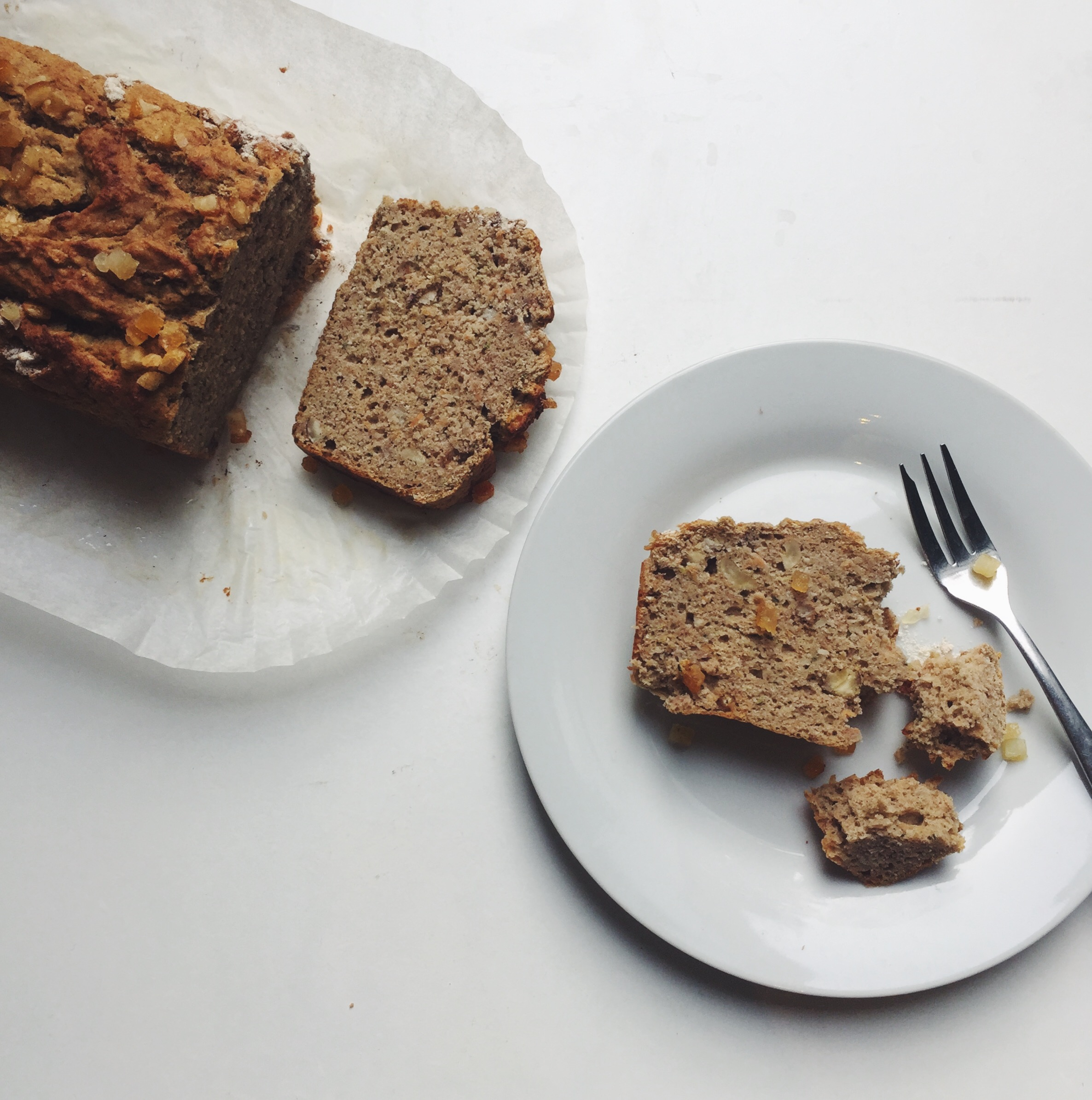 Banana, Orange and Courgette Breakfast Loaf