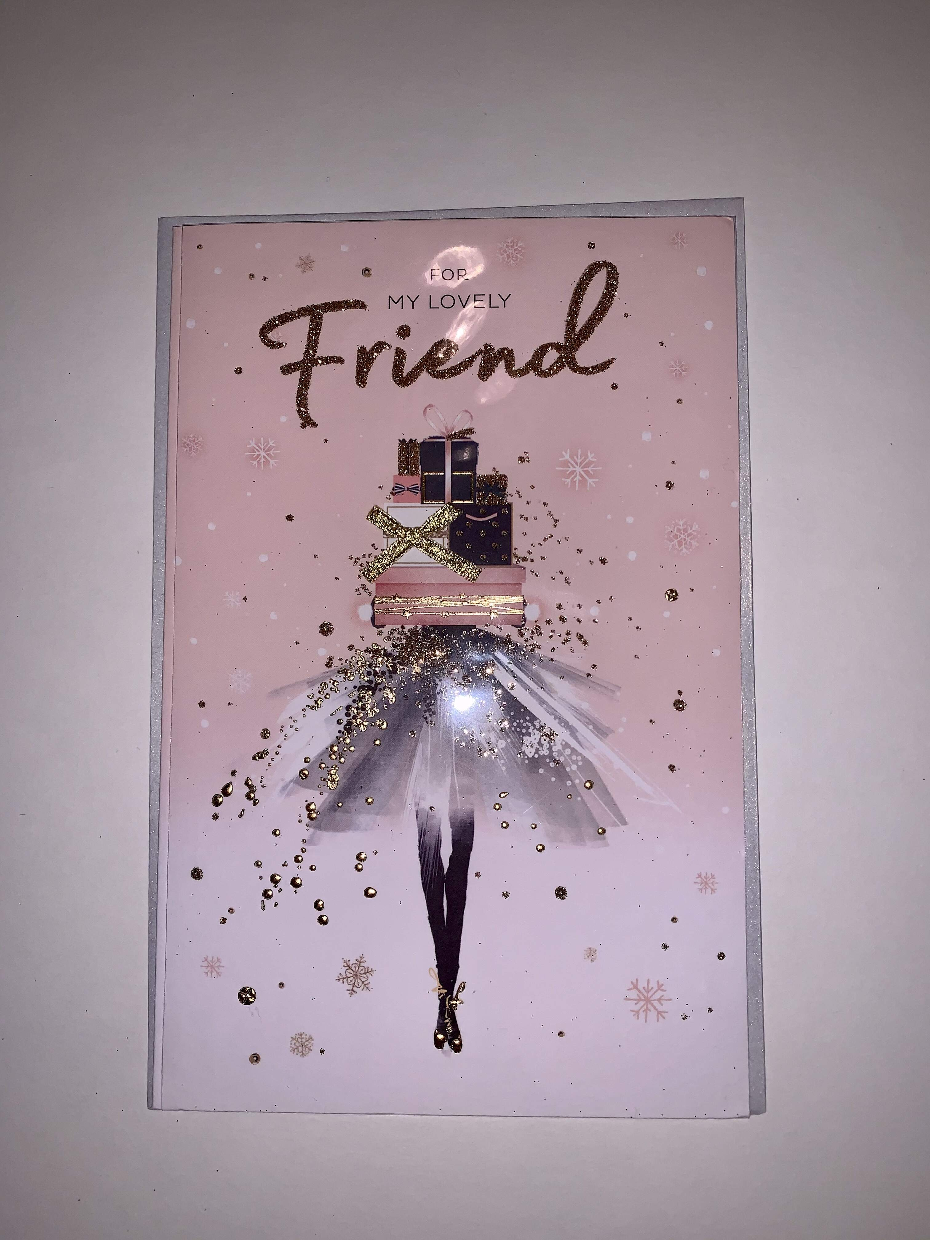 UKG Special Friend Christmas Card
