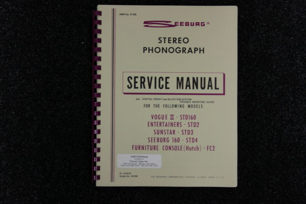Seeburg - Service Manual - STD Models