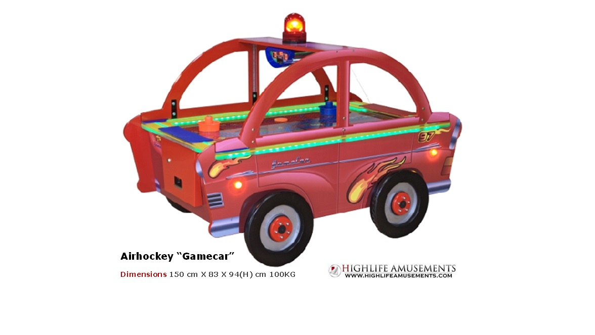 "Airhockey kids ""Gamecar"""