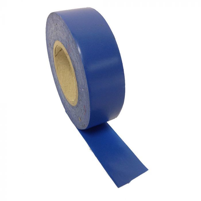 Blue PVC tape 19mm