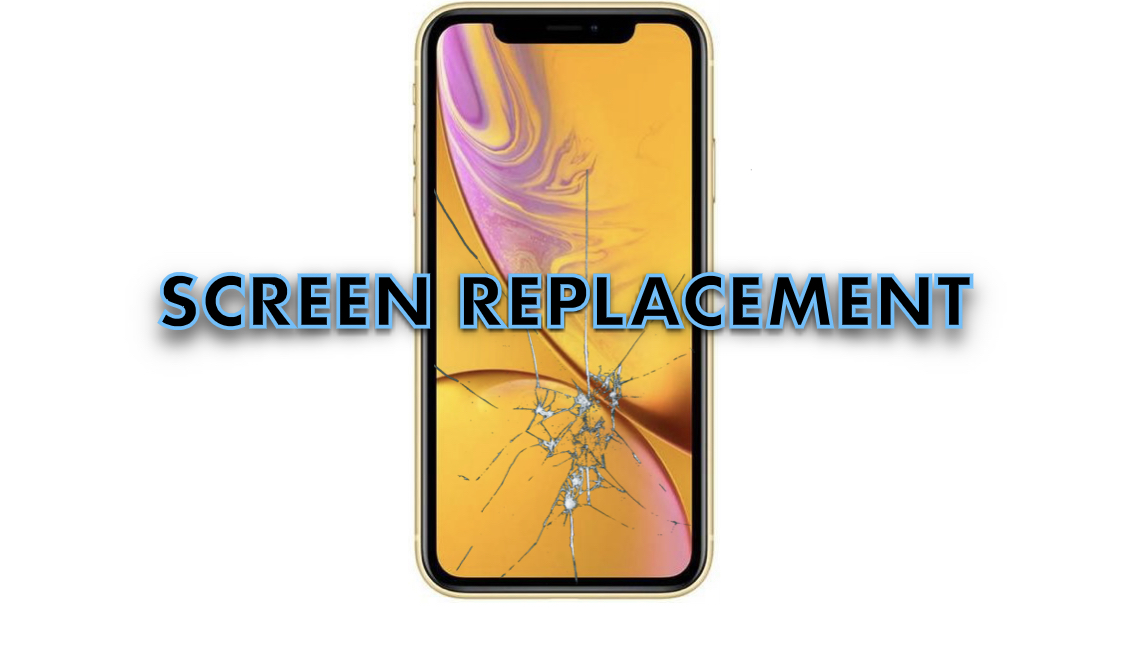 iPhone XR Screen Smashed