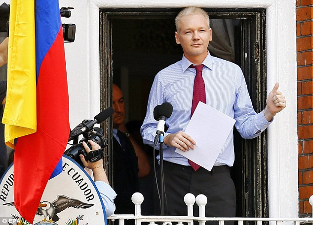Julian Assange pic