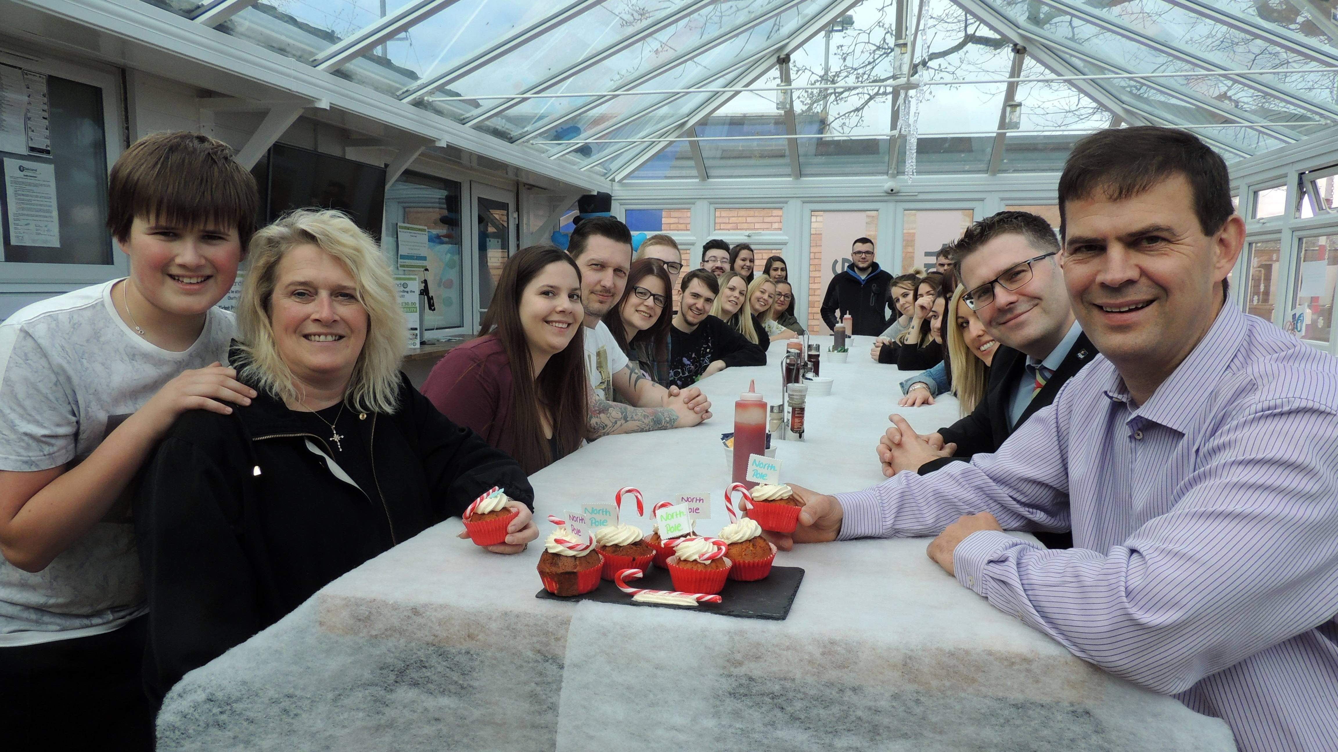 Bon voyage fundraising lunch for Midlands North Pole bound businessman