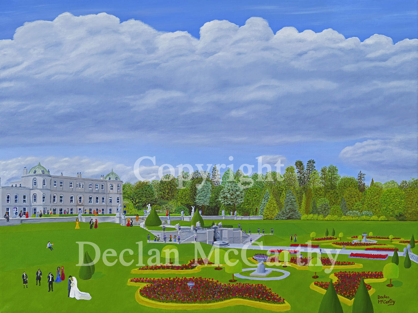 A Powerscourt Wedding