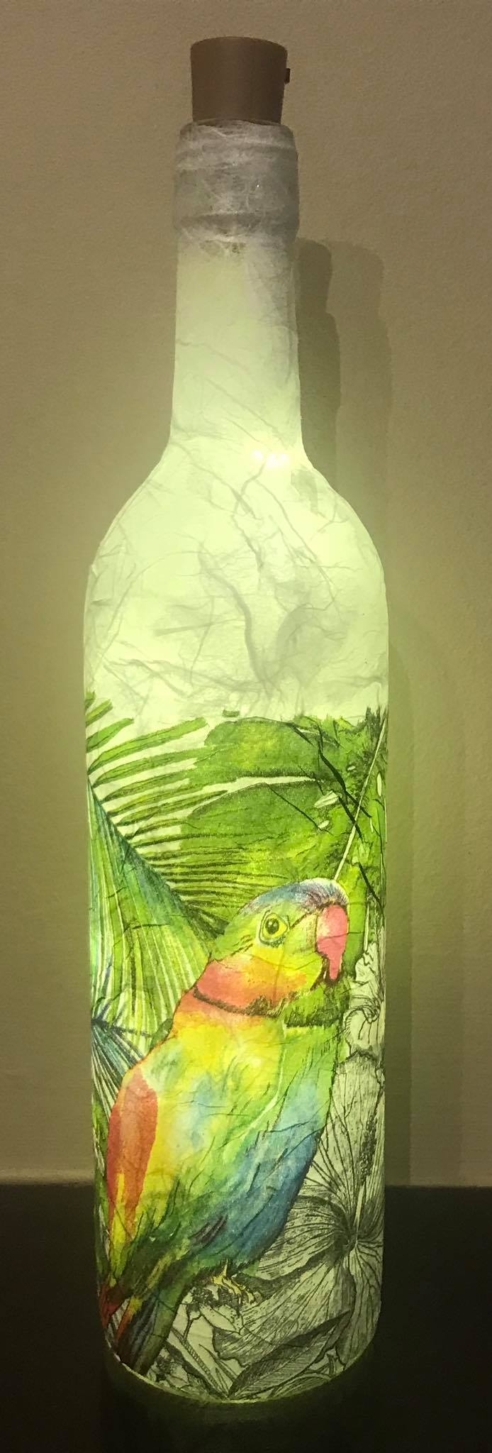Parrot Light Up Bottle