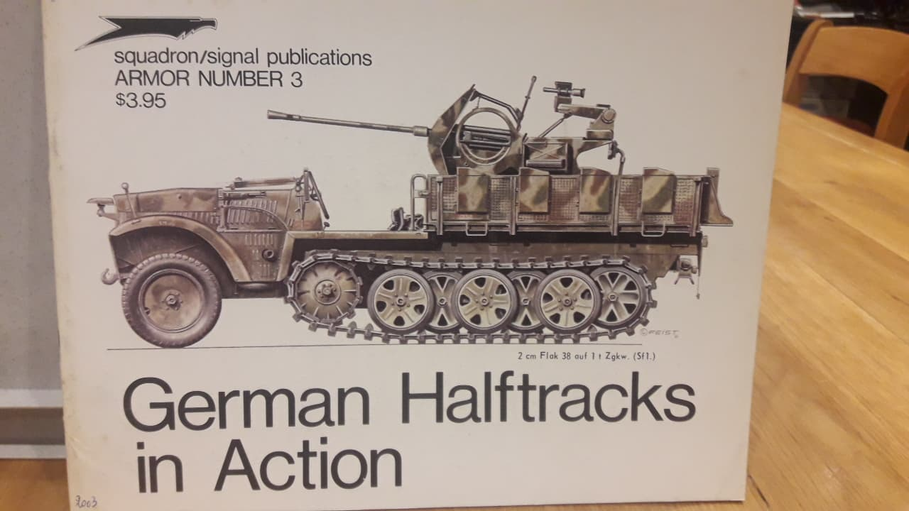 German Halftracks in action / squadron/signal publications
