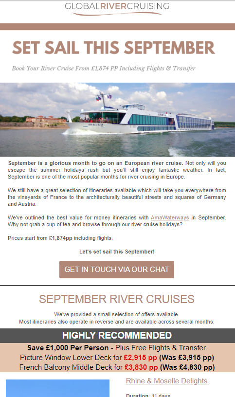 CRM Cornwall Global River Cruising