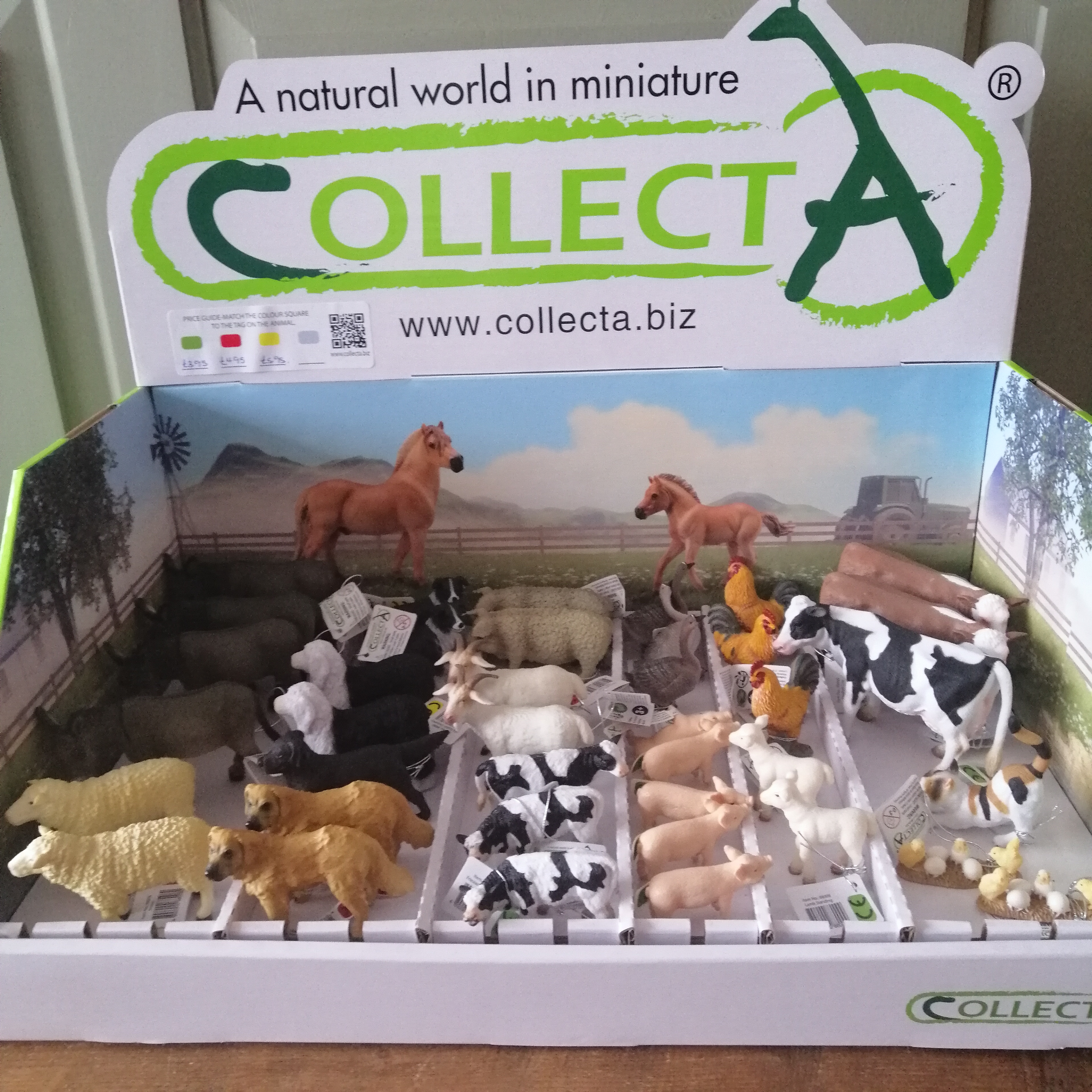 Farm Animal Figures by CollectA