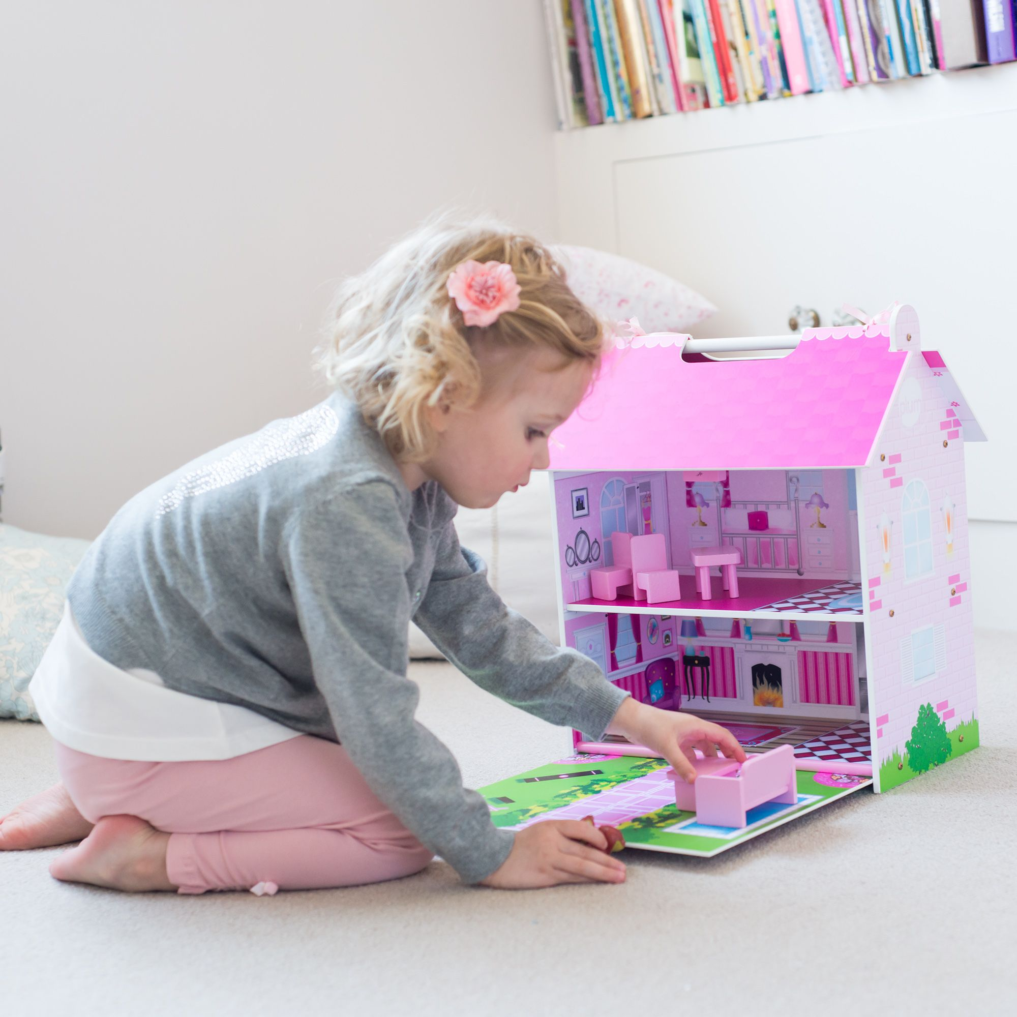 Plum® Hove Wooden Dolls House