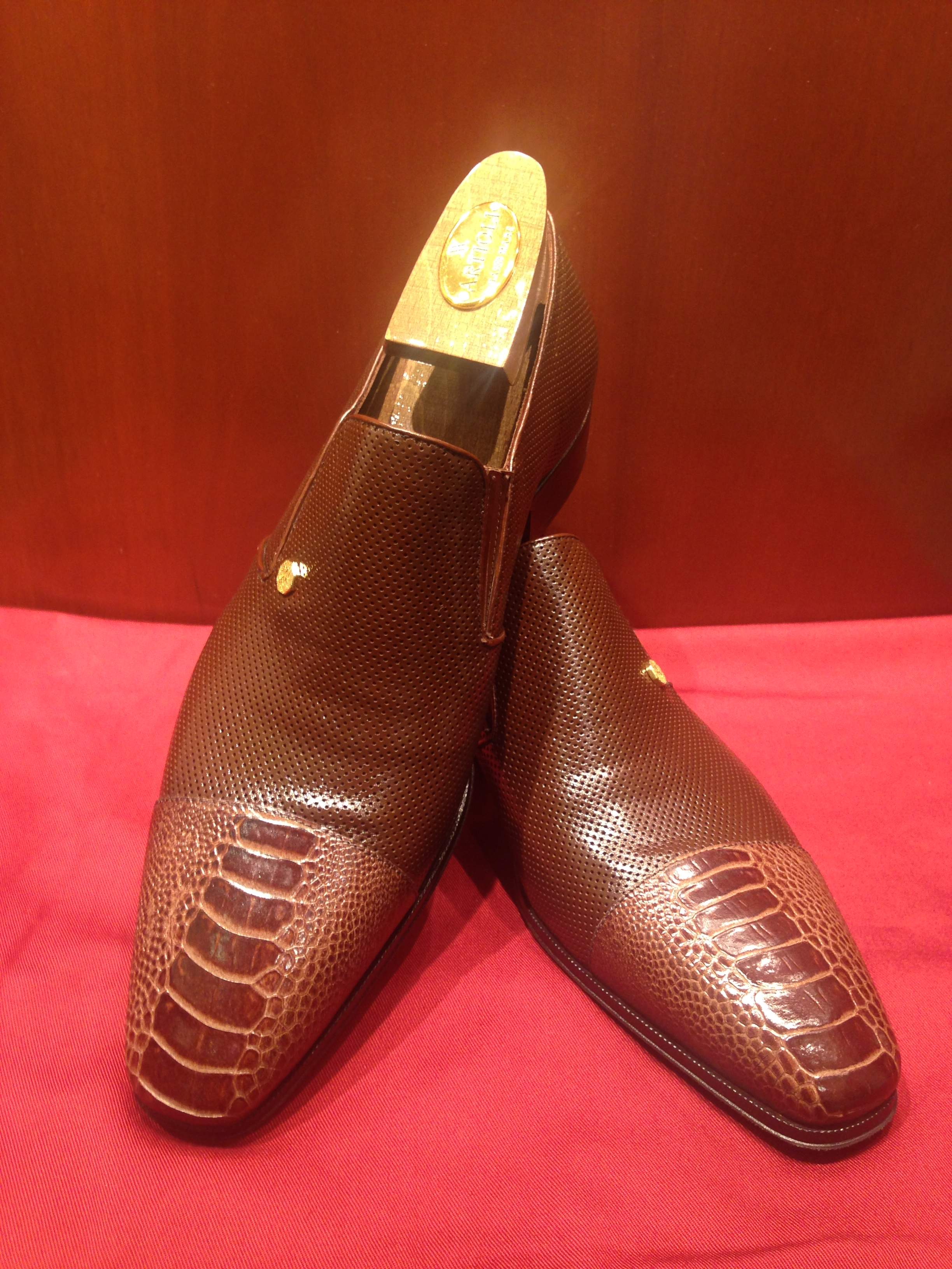 Slip-on Model 6P641 Brown
