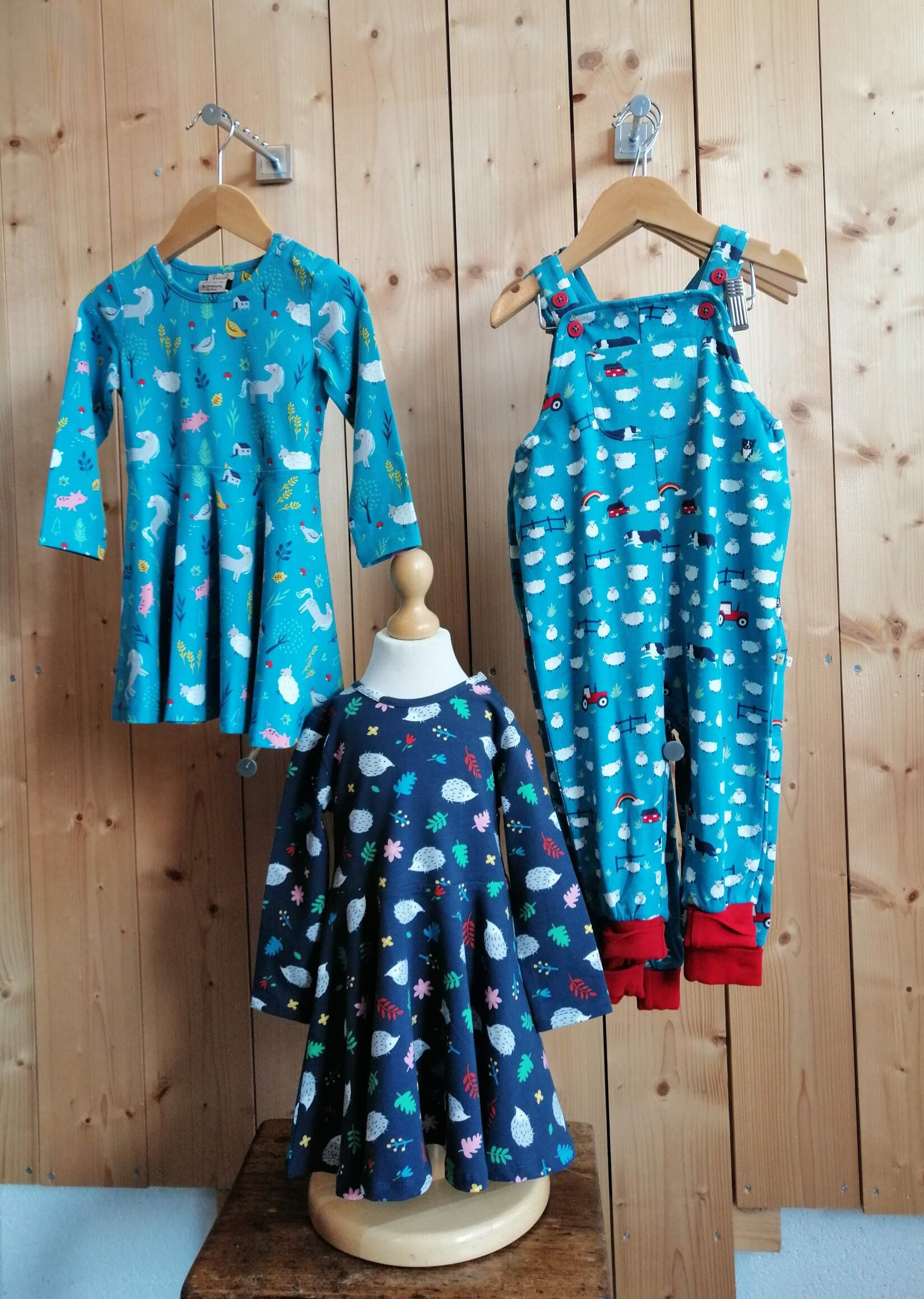 Frugi Skater Dresses and Dungarees- Younger