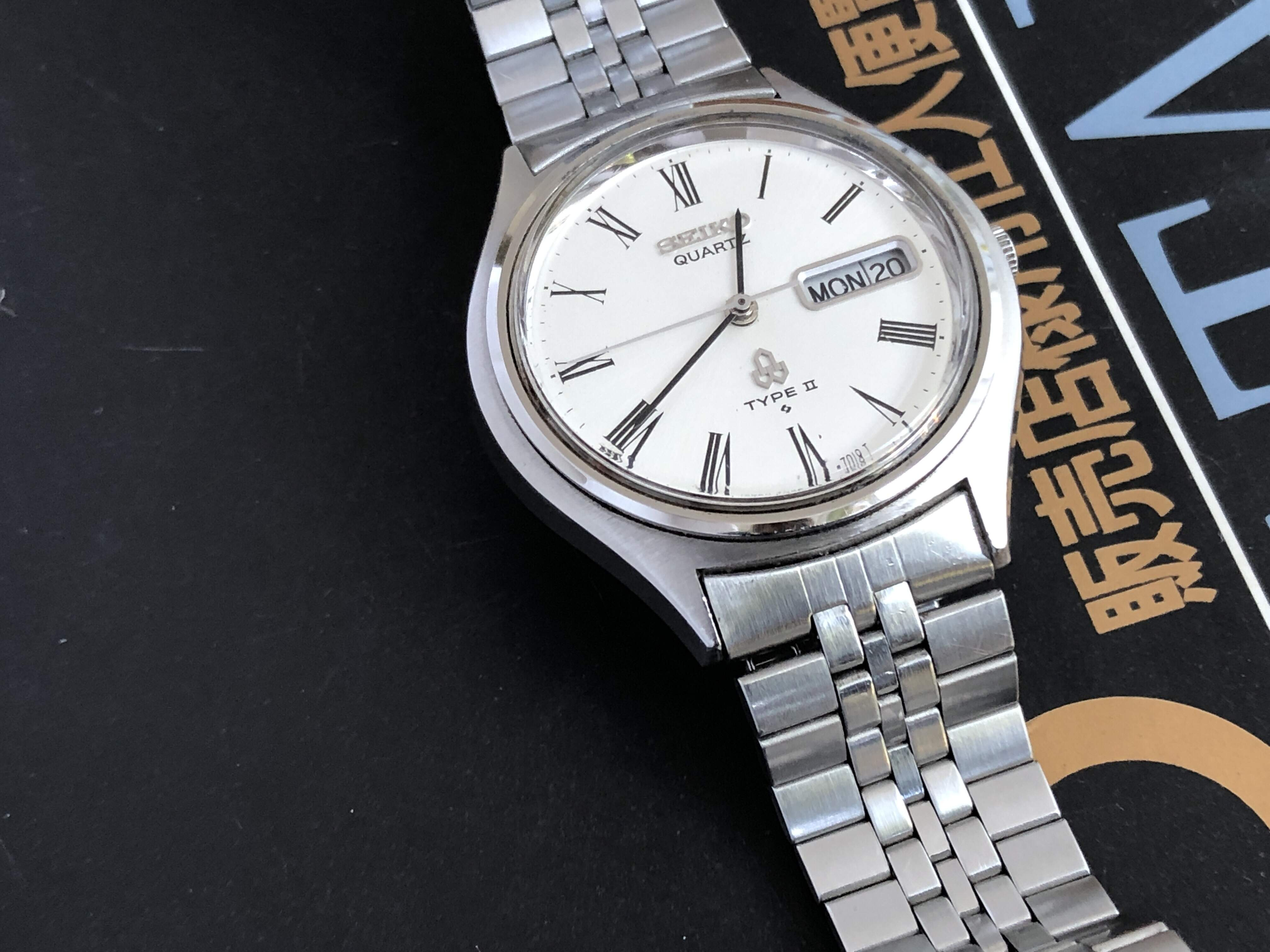 Seiko Type II 7546-7010 QHK110 (For sale)