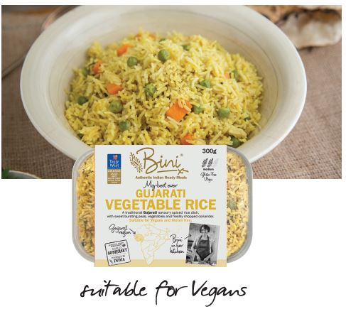 The story behind the dish... Mixed Vegetable Rice - Veganuary