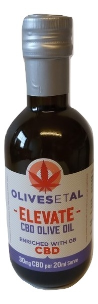 Elevate CBD Culinary Extra Virgin Olive Oil