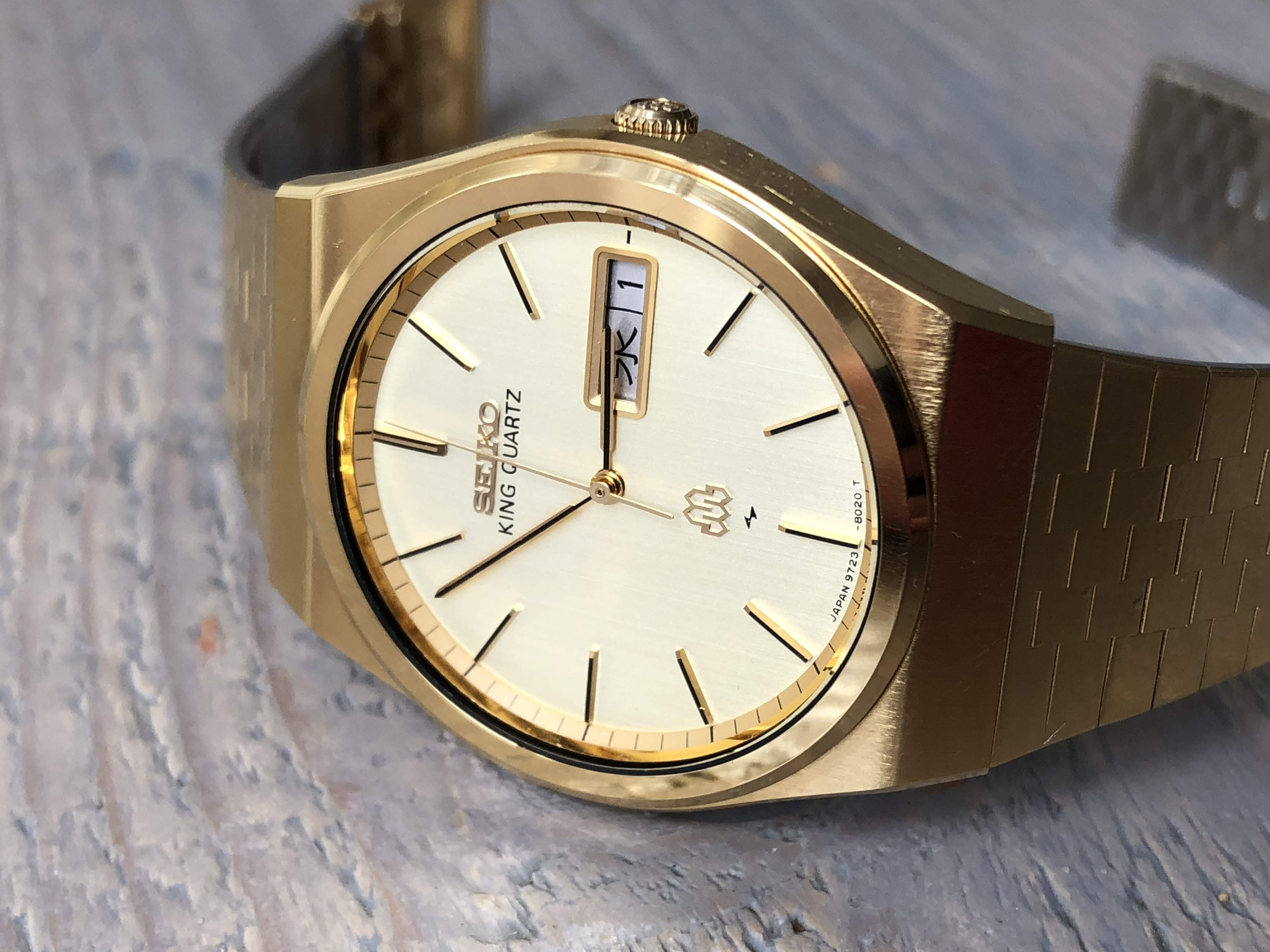 Seiko King Quartz 9723-8030 SGP NOS (Sold)