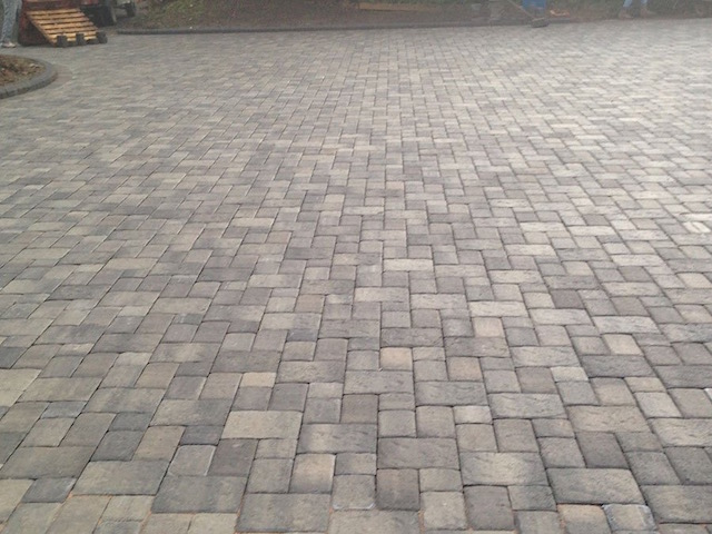 Block paving West Byfleet