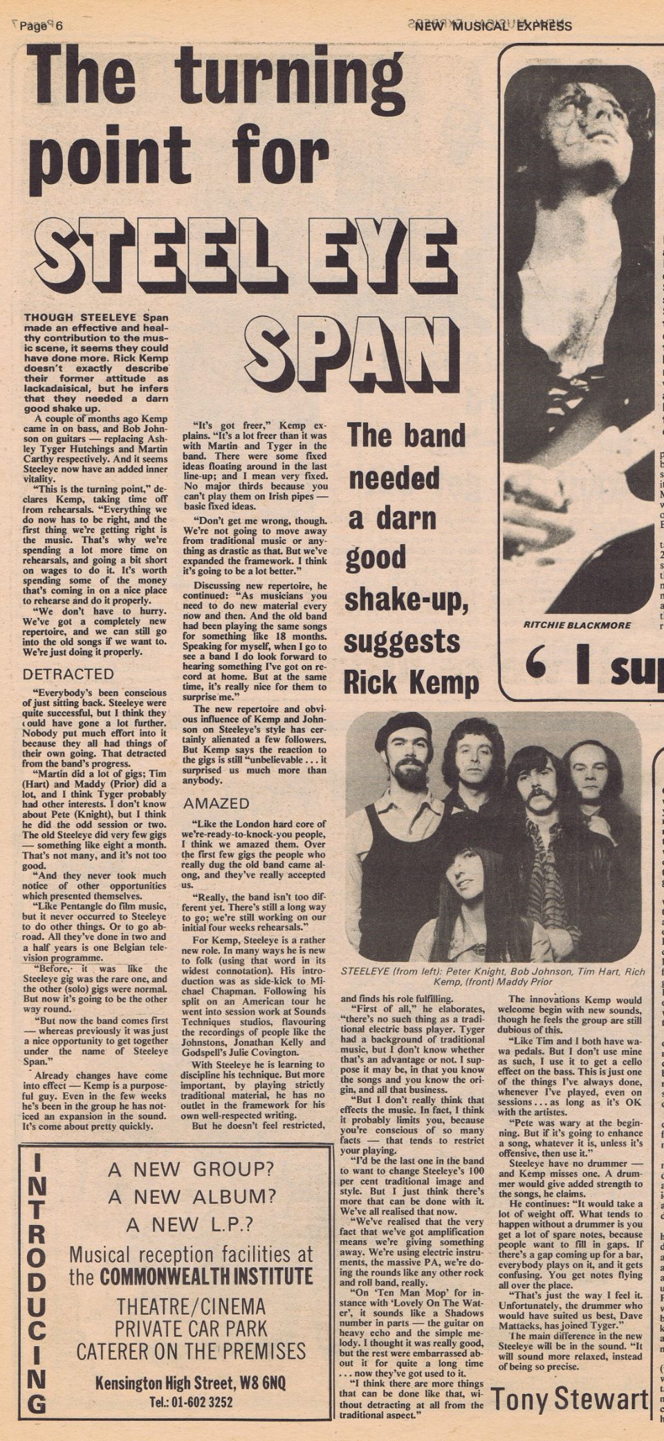 steeleye span article