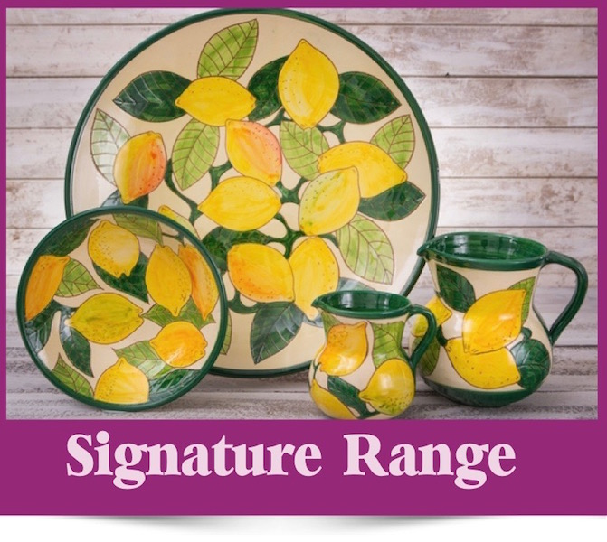 The Signature Range of Spanish Ceramics from Brambles Deli