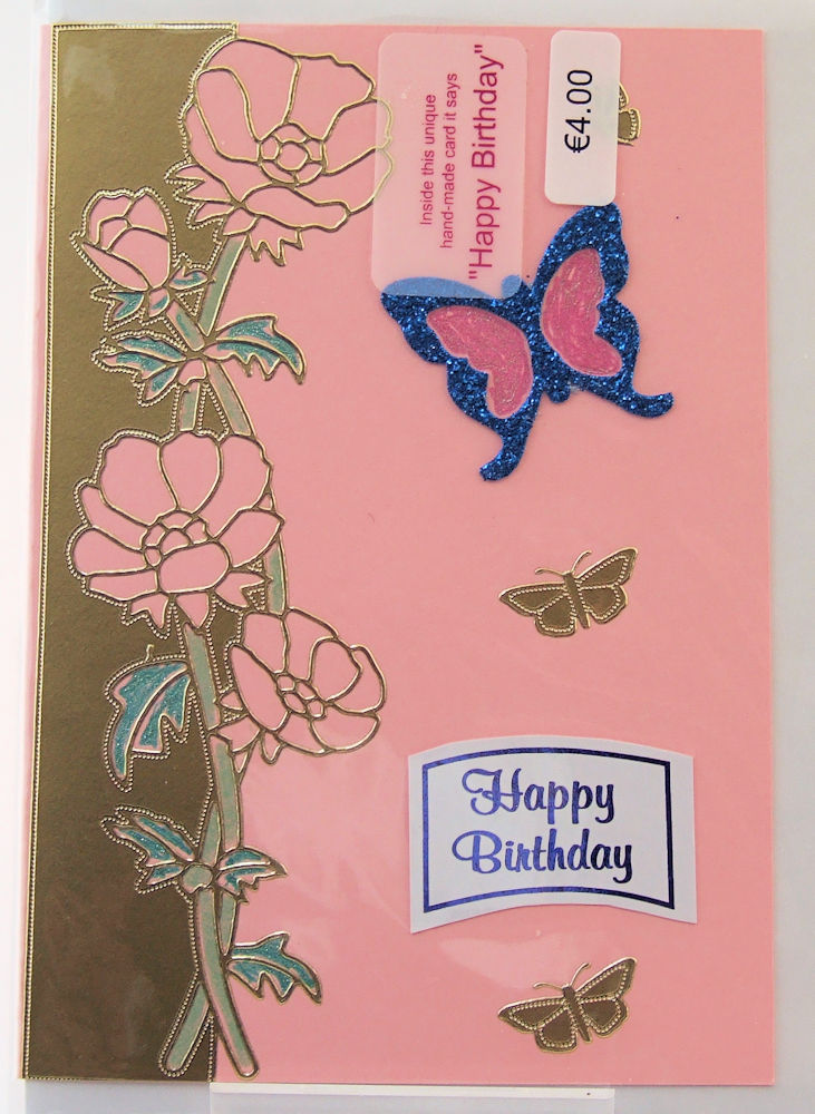 Handmade 'Happy Birthday' Card - 25
