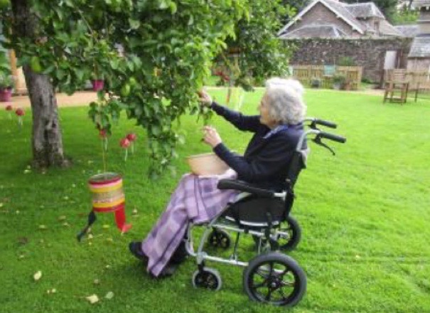 High quality nursing home care at Richmond House, Crieff