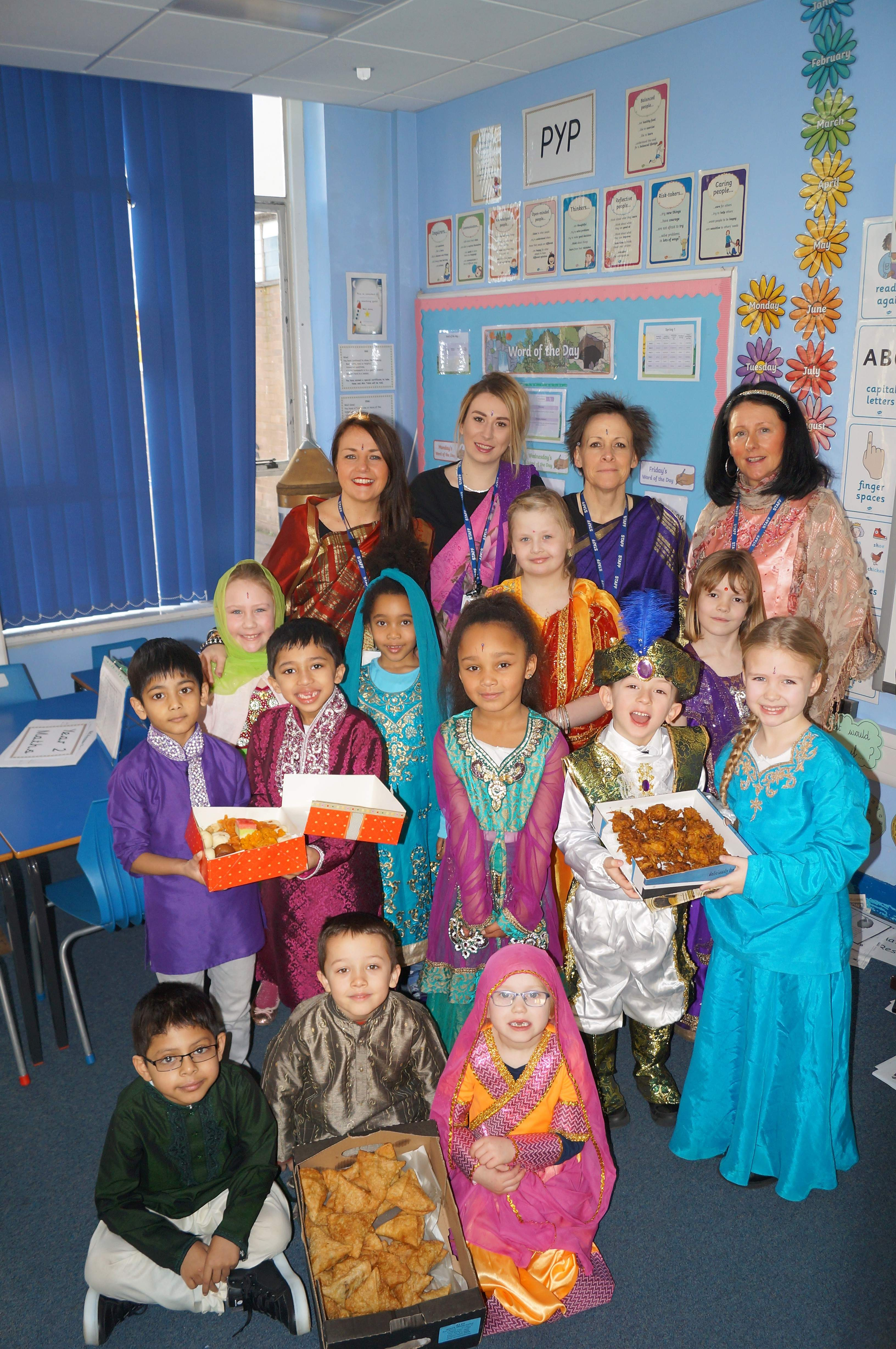 Kidderminster Pupils Take a Day Trip to India
