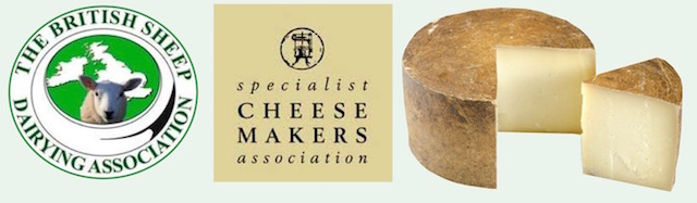 Galloway Farmhouse Cheese are members of the British Sheep Dairying Association and the Specialist Cheesemakers Association for which these are the logos