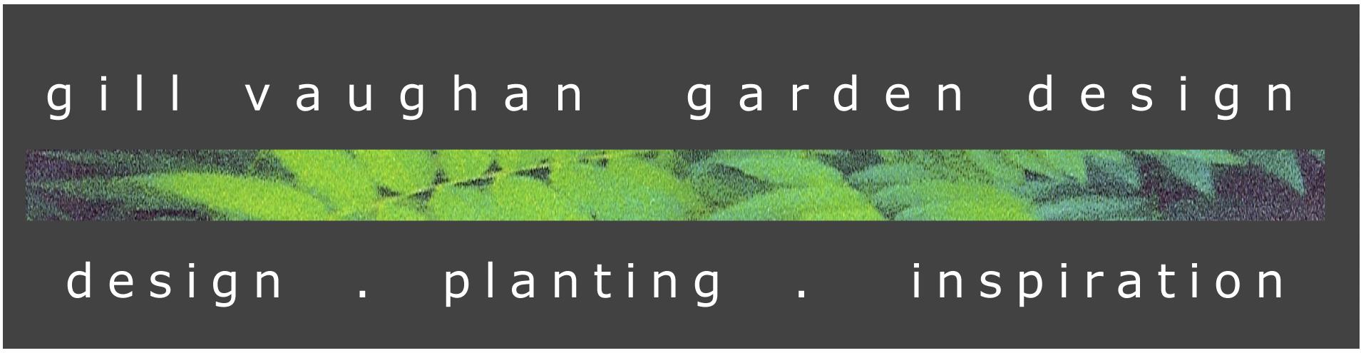 g i ll vaughan garden design logo greypng