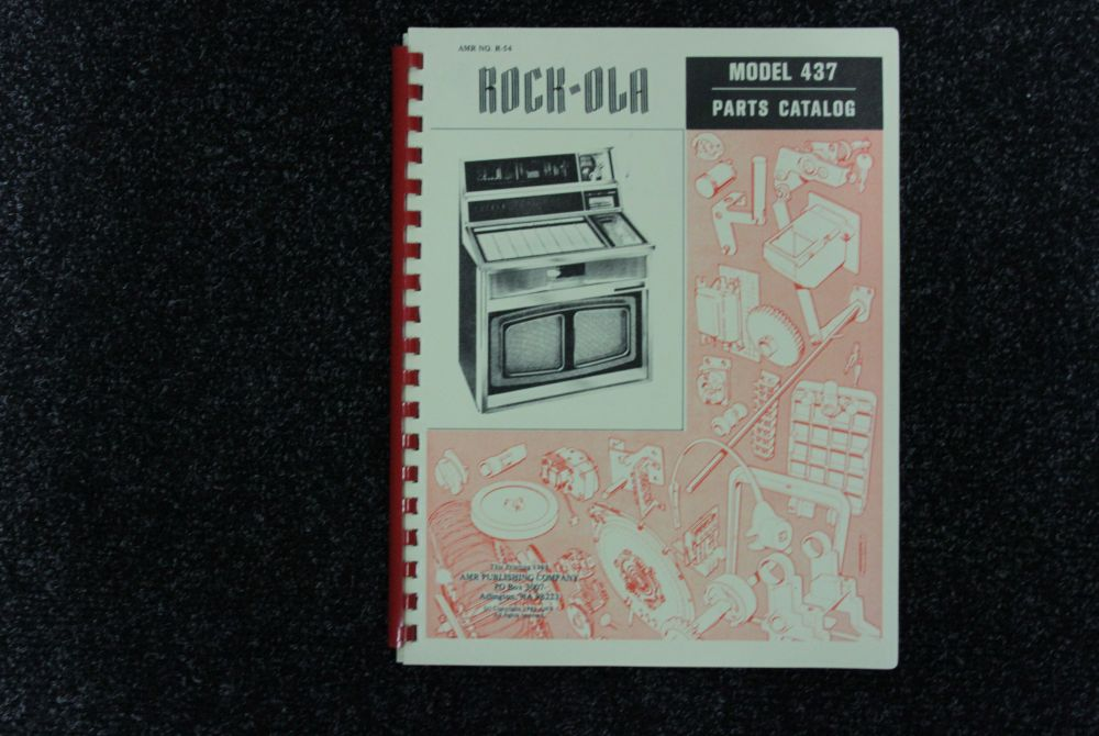 Rock-ola - Parts Catalog - Model 437