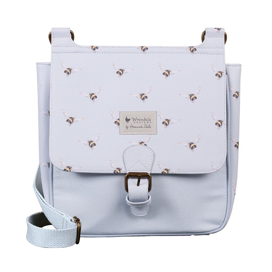 'Flight Of The Bumblee' VEGAN satchel bag by Wrendale Designs
