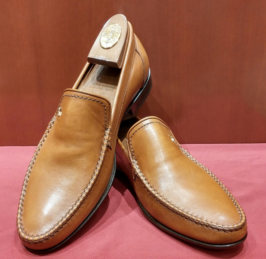 Loafer Model 624 Honey Brown