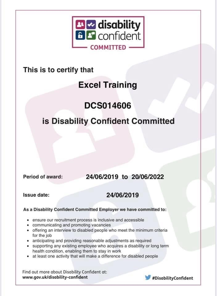 Disability Committed Certificate