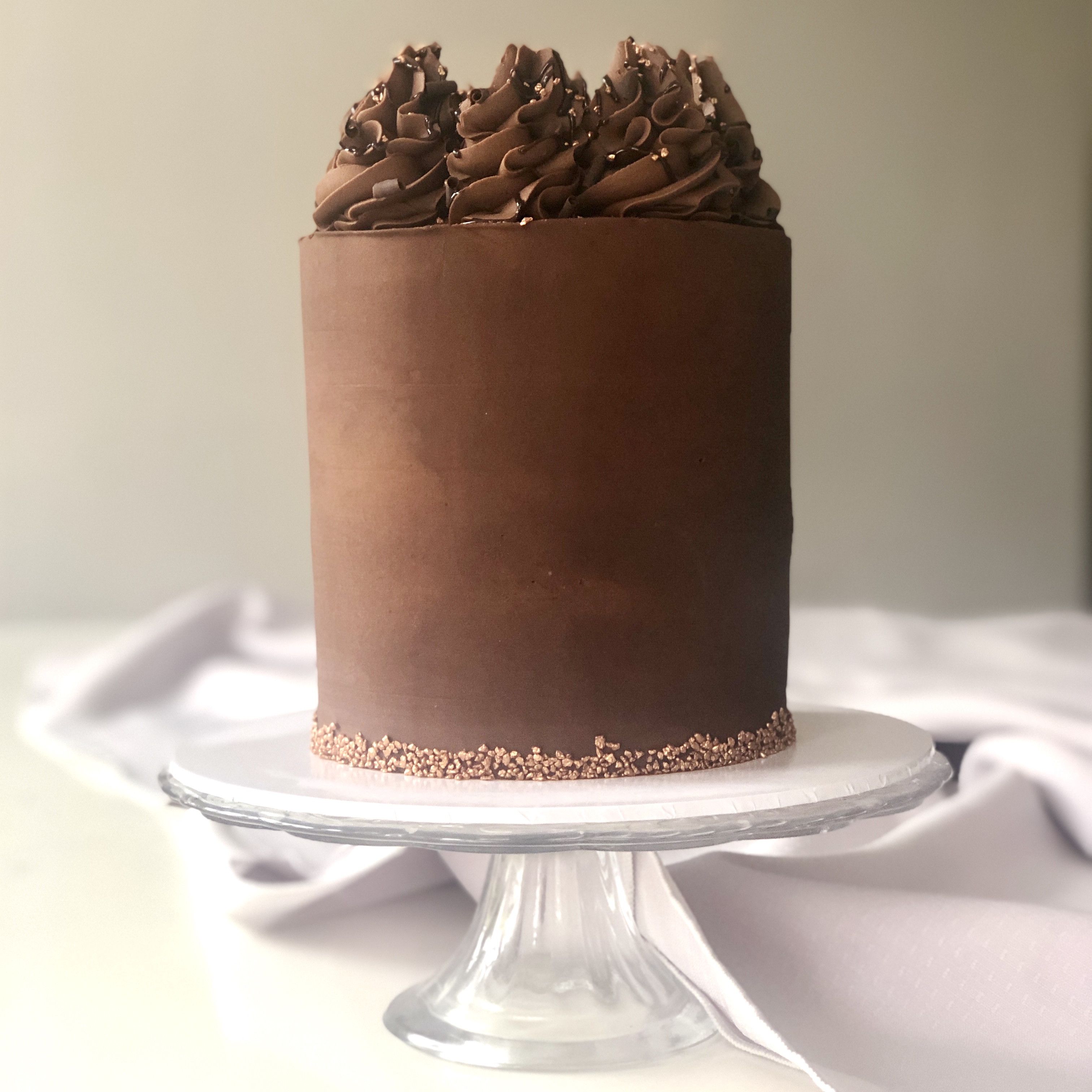 Chocolate Truffle - Boutique Buttercream Cake