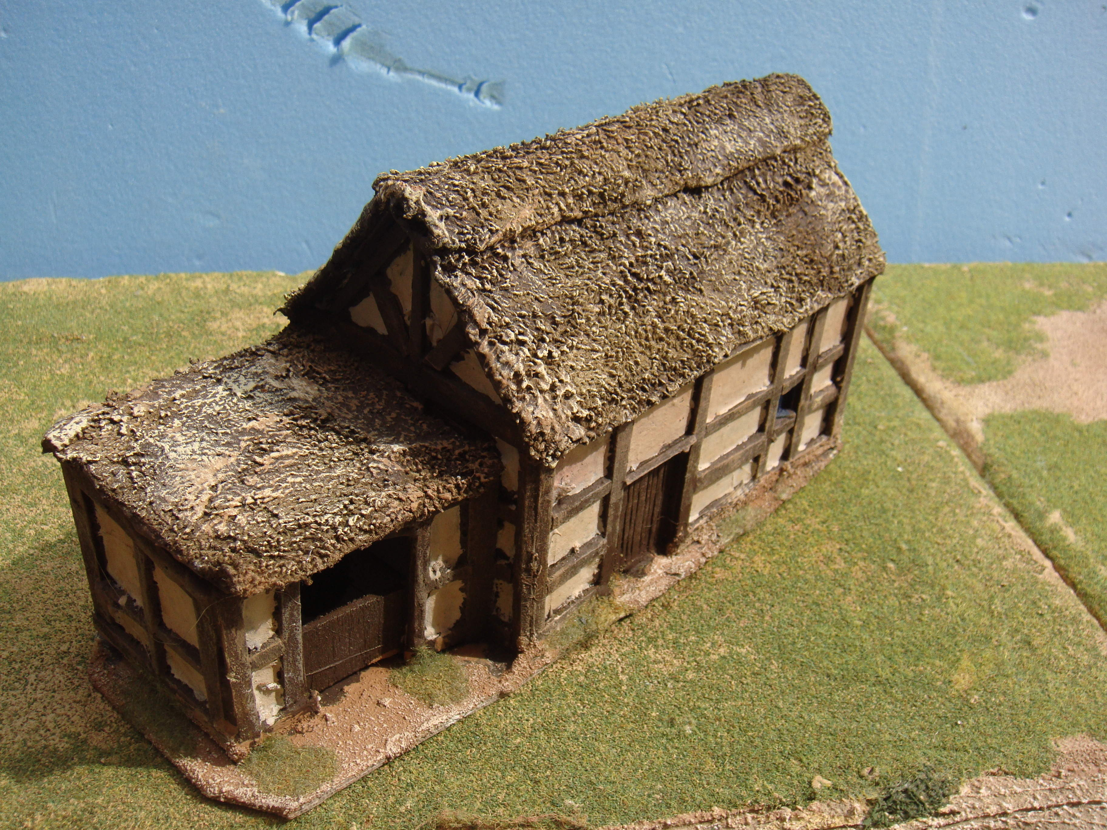 HALF TIMBERED COTTAGE WITH STABLE