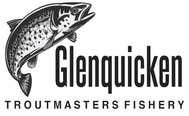 Logo for our Troutmasters Fishery at Glenquicken, linking to that website