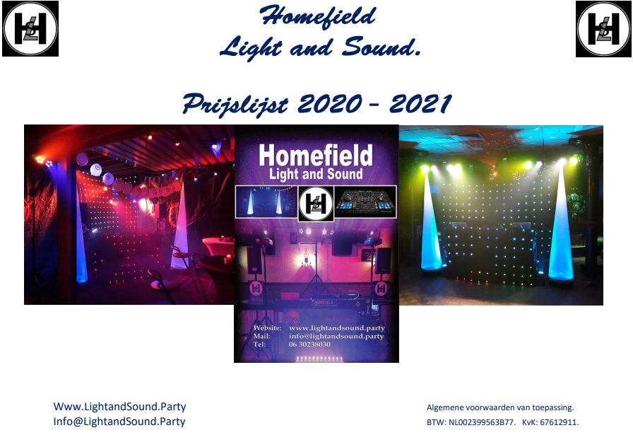 Homefield Light and Sound.